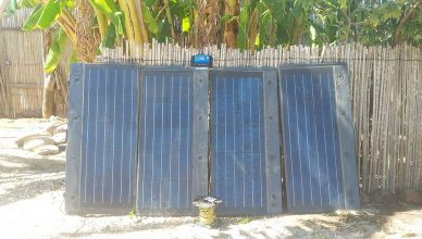 reccyled solar panels for off-grid solar